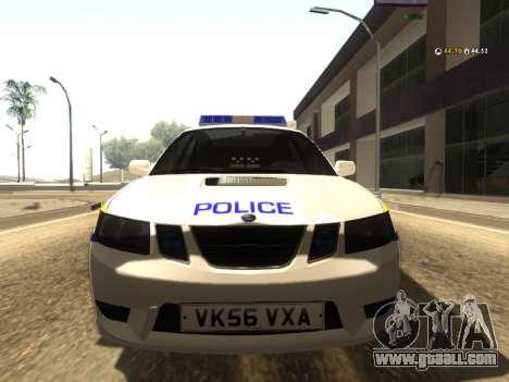 SAAB 9-2 Aero Turbo Generic UK Police for GTA San Andreas left view