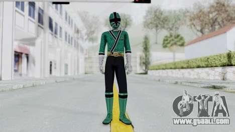 Power Rangers Samurai - Green for GTA San Andreas second screenshot