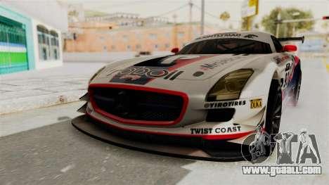 Mercedes-Benz SLS AMG GT3 PJ1 for GTA San Andreas engine
