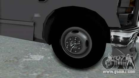 Ford F-350 for GTA San Andreas back view