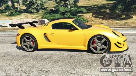 GTA 5 Ruf CTR3 v1.1 left side view