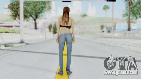 GTA 5 Liz (Elisa Macallen) for GTA San Andreas third screenshot