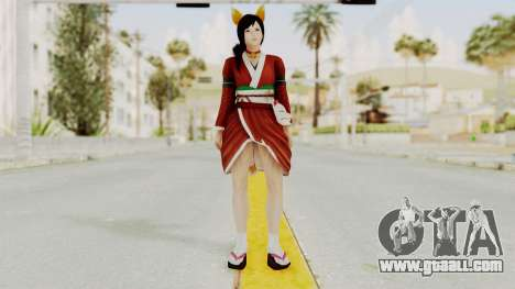 DoA5 Ultimate Kokoro Halloween 2014 Kitty for GTA San Andreas second screenshot