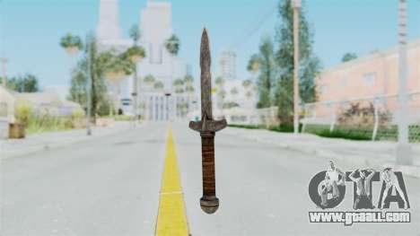 Skyrim Iron Dager for GTA San Andreas