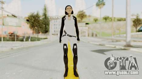 ME3 Dr. Eva Custom Miranda Castsuit for GTA San Andreas second screenshot