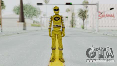 Power Rangers Dino Thunder - Yellow for GTA San Andreas second screenshot