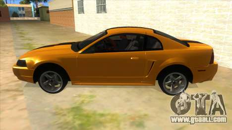 2003 Ford Mustang for GTA San Andreas left view