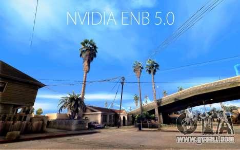 ENB NVIDIA 5.0 FINAL for GTA San Andreas