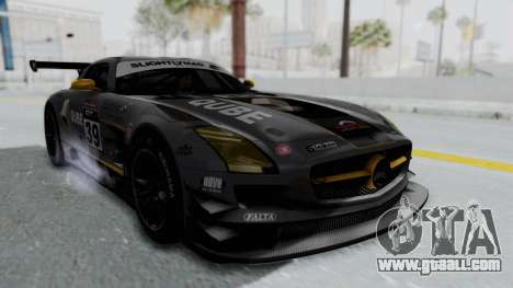 Mercedes-Benz SLS AMG GT3 PJ5 for GTA San Andreas side view