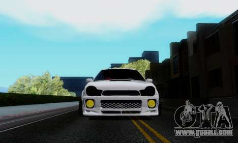 Subaru Impreza WRX STi Wagon Stens for GTA San Andreas back view