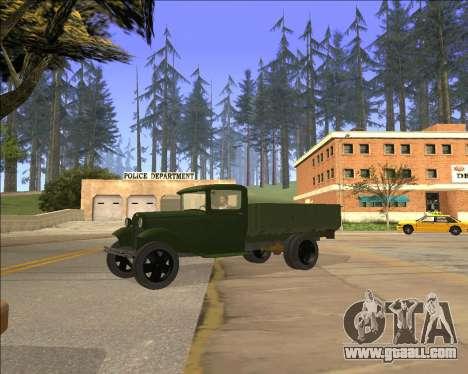 GAZ AA Lorry for GTA San Andreas