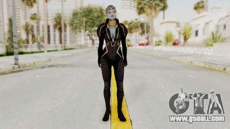 Mass Effect 2 Samara Black for GTA San Andreas second screenshot