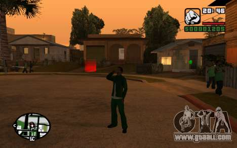 CJ Animation ped for GTA San Andreas sixth screenshot