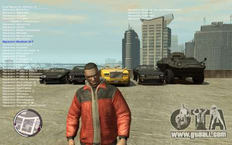 Native Trainer GTA EFLC ENG [STEAM] for GTA 4 third screenshot