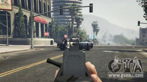 GTA 5 TAR-21 seventh screenshot