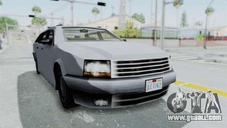 GTA LCS Sindacco Argento v2 for GTA San Andreas right view