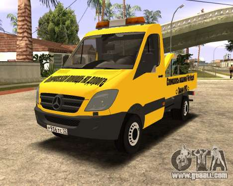 Mersedes-Benz Sprinter Towtruck for GTA San Andreas