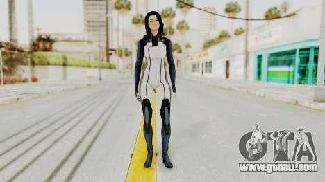 Mass Effect 3 Miranda in Evas Catsuit for GTA San Andreas second screenshot