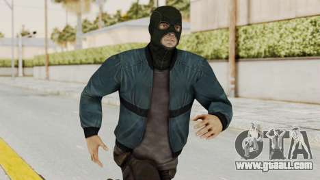 Wanted Weapons Of Fate Chicago Grunt Masked for GTA San Andreas