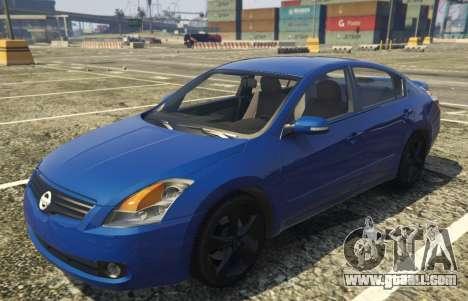 Nissan Altima 3.5SE for GTA 5