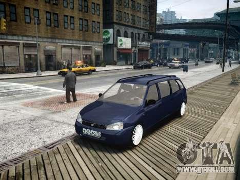 VAZ Kalina 1117 7-door for GTA 4