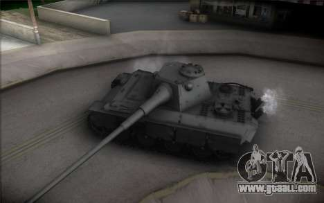 Panther II for GTA San Andreas inner view