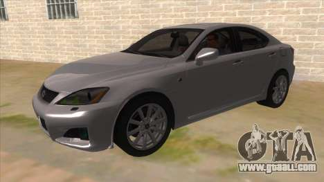 Lexus ISF for GTA San Andreas