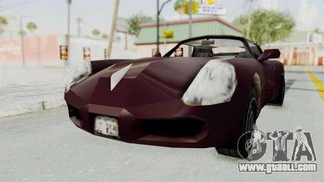 GTA 3 Stinger for GTA San Andreas right view