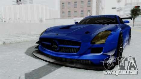 Mercedes-Benz SLS AMG GT3 PJ5 for GTA San Andreas right view