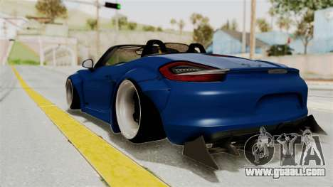 Porsche Boxster Liberty Walk for GTA San Andreas left view