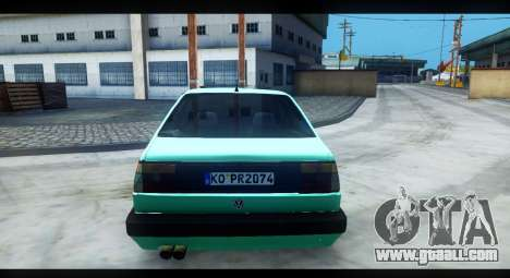 Volkswagen Jetta Mk2 for GTA San Andreas back view