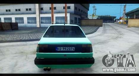 Volkswagen Jetta Mk2 for GTA San Andreas back view