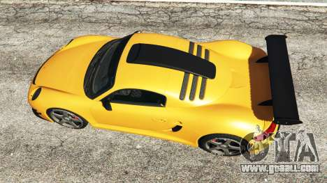 GTA 5 Ruf CTR3 v1.1 back view
