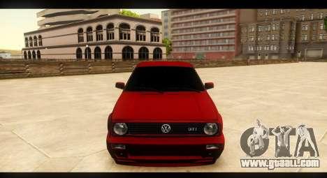 Volkswagen Golf GTI Mk2 for GTA San Andreas side view