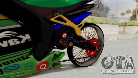 Kawasaki Ninja ZXRR56R for GTA San Andreas right view