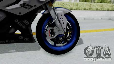 BMW S1000RR HP4 for GTA San Andreas back left view