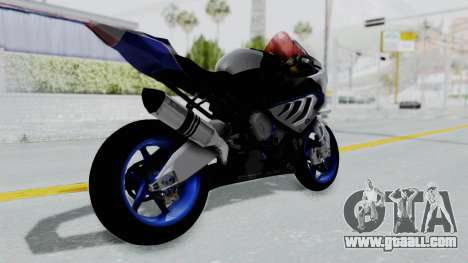 BMW S1000RR HP4 for GTA San Andreas left view