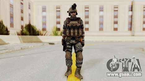Battery Online Soldier 1 v2 for GTA San Andreas second screenshot