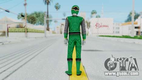 Power Rangers Ninja Storm - Green for GTA San Andreas third screenshot