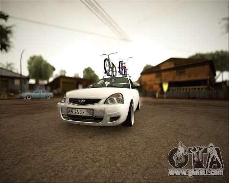 Lada Priora for GTA San Andreas