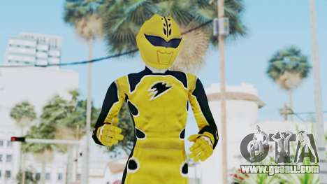 Power Rangers Jungle Fury - Yellow for GTA San Andreas