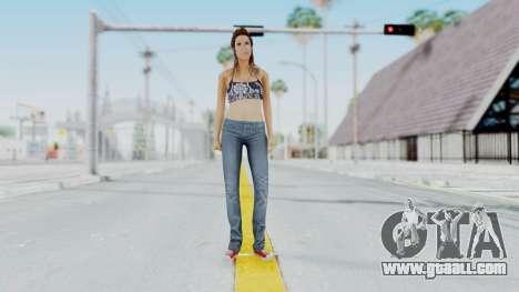 GTA 5 Liz (Elisa Macallen) for GTA San Andreas second screenshot
