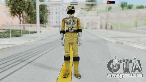 Power Rangers RPM - Yellow for GTA San Andreas second screenshot