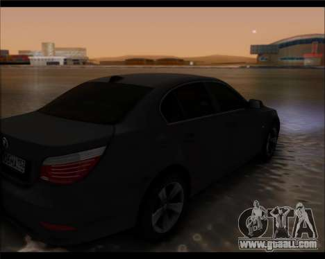 BMW 530xd stock for GTA San Andreas left view