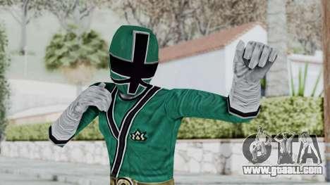 Power Rangers Samurai - Green for GTA San Andreas