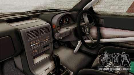 Mazda RX-7 1990 (FC3S) Cordelia Glauca Itasha for GTA San Andreas inner view