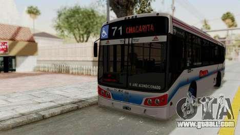 Todo Bus Pompeya II Agrale MT15 Linea 71 for GTA San Andreas