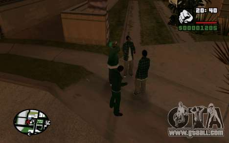 CJ Animation ped for GTA San Andreas second screenshot