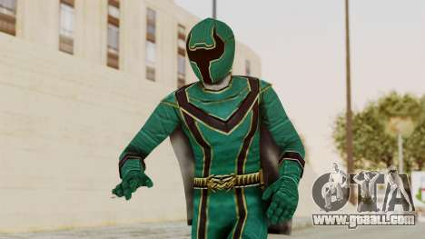 Power Rangers Mystic Force - Green for GTA San Andreas