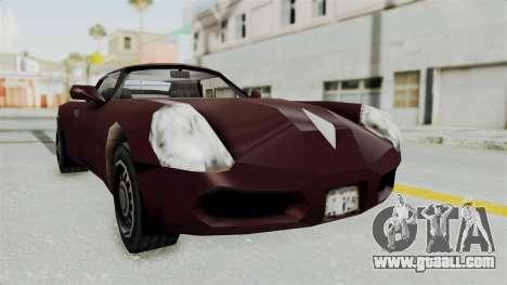 GTA 3 Stinger for GTA San Andreas